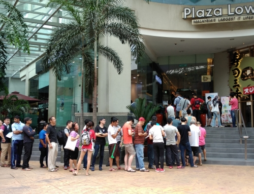 Tremendous response to ZTE Malaysia's launching sale for Blade V7 Lite at Plaza Low Yat