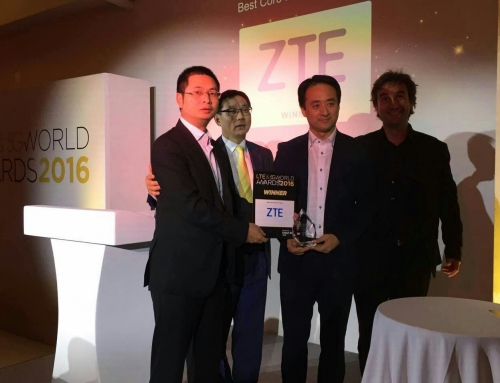ZTE wins Best Core Network Product Award at 5G World Summit for its vCN