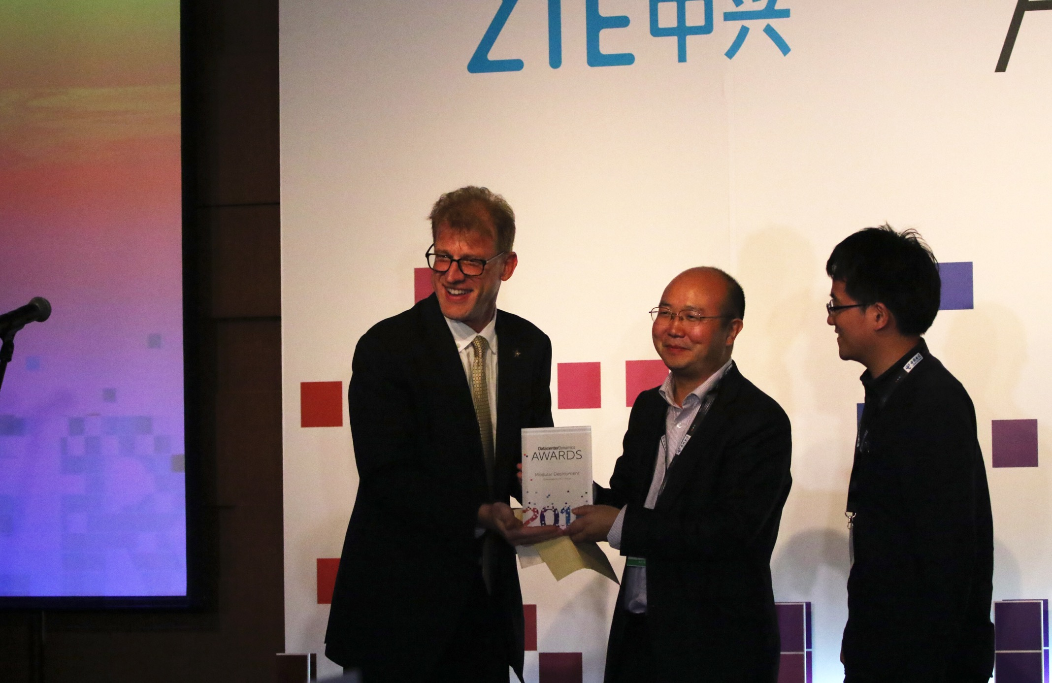 ZTE wins the DCD Internet Data Center and Modular Deplyment Awards