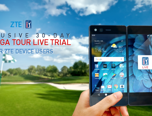 ZTE, PGA TOUR Announce Exclusive Free 30-Day Trial of PGA TOUR LIVE
